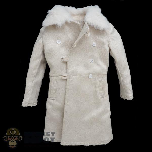 1//6 Scale Bekesha Winter Coat Alert Line Action Figure Red Army Lieutenant