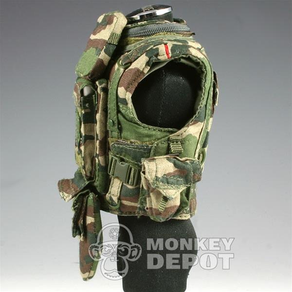 Vest Bbi French Modern Body Armor W Pouches