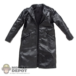 Coat: Black Box Black Leatherlike Jacket