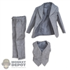 Suit: Black Box Mens Earl Grey 3 Piece Suit