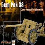 Boxed Artillery Dragon German Cyber Hobby 5cm Pak 38 Cannon 71317