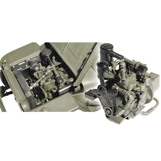Dragon jeep engine