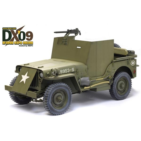 Dragon US WWII Jeep w/Armor Plating DX09 71428