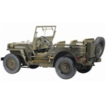 Vehicle 1/6 Model Kit: Dragon US Jeep (75020) UNPAINTED KIT