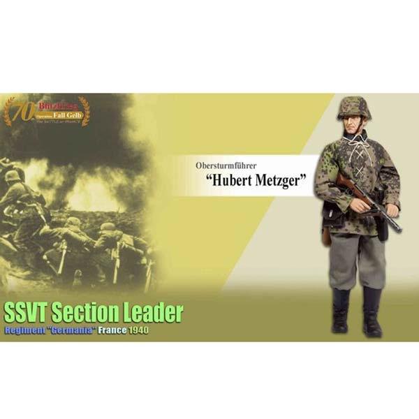 Machine Gun Hubert Metzger 1:6 Dragon