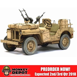 "1/6 Model Kit: Dragon SAS 1/4 Ton 4x4 Truck ""Desert Raider"" UNPAINTED (75038)51)"