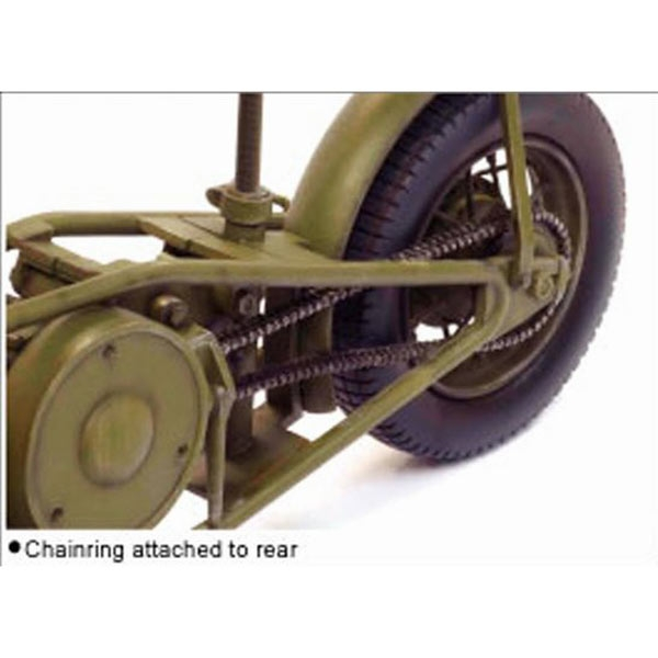 """Dragon 1//6 Scale WWII British Welbike Model Kit for 12/"""" Action Figures 75034"""