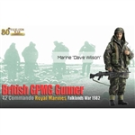 "Boxed Figure: Dragon ""Dave Wilson"" British GPMG Gunner (70843)"