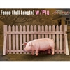 Dragon Cyber Hobby Fence (Full Length) w/Pig (71397)