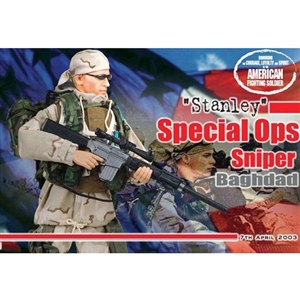 Boxed Figure: Dragon Special Ops Sniper Stanley (70255)