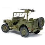 1/6 Model Kit: Dragon 1/4-Ton 4x4 Truck w/M2 .50-cal Machine Gun UNPAINTED KIT (75052)