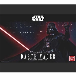 Model Kit: Bandai 1/12 Scale Star Wars Darth Vader (BAN-191408)
