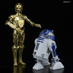 Model Kit: Bandai 1/12 Scale Star Wars C-3PO & R2-D2 (BAN-223297)
