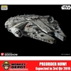 Model: Bandai 1/72 Scale Millennium Falcon Model Kit (904605)
