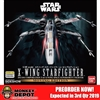 Bandai 1/48 Scale X-Wing Starfighter Moving Edition Plastic Model Kit (904606)