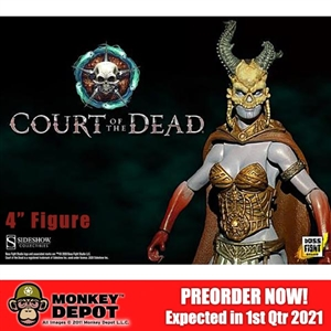 Action Figure: Boss Fight 4 inch Kier Valkyrie of the Dead (907134)