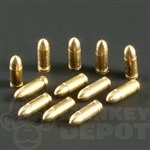 Ammo Battle Gear Toys US .45 Rounds Machined Metal Set of 12