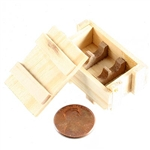 Crate Battle Gear Toys Japanese WWII Knee Mortar Rounds Wood