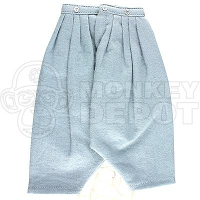 1//6 battle gear toys pants harem zouave 425 05 sky blue-uscw