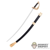 Sword: Battle Gear Toys Saber & Scabbard #9