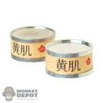 Food: Battle Gear Toys Japanese - Canned Fish (Set of 3)