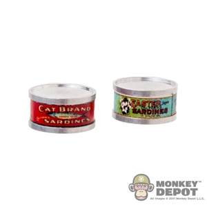Food: Battle Gear Sardine Cans