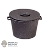 Pot: Battle Gear Toys Cooking Pot w/Lid