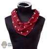 Tie: Battle Gear Toys Western Neckerchief (Burgundy w/Stars)