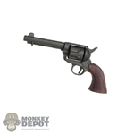 Pistol Battle Gear Toys Colt .45 Peacemaker Russet Grip