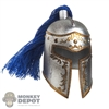 Helmet: BIO Inspired Metal Knight Helmet