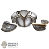Armor: BIO Inspired Mens Metal Chest Plate w/Shoulder Guards