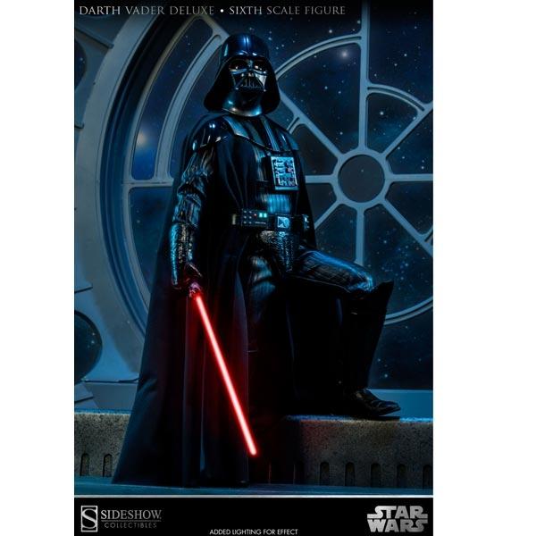 Monkey Depot - Sideshow Star Wars Darth Vader Deluxe 100076-5420