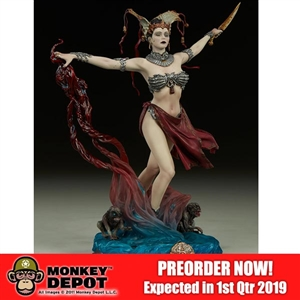 Statue: Sideshow Gethsemoni - Queens Conjuring (500063)