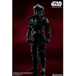 Boxed Figure: Sideshow Star Wars Tie-Fighter (100416)