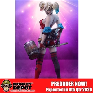 Statue: Sideshow Harley Quinn Hell on Wheels Premium Format Statue (300714)