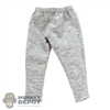 Pants: Blitzway Mens Calf Length Gray Sweatpants
