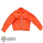 Coat: Blitzway Mens Orange Lightweight Jacket