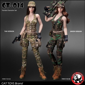 Outfit: Cat Toys Military Female Character Sets (CAT-014)