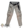 Pants: Cat Toys Female Weathered Pants w/Belt & Knife Sheath