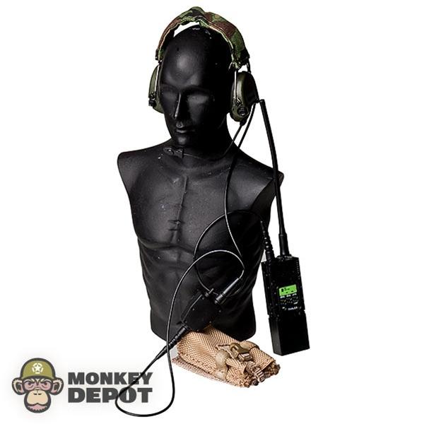 Monkey Depot - Radio: Crazy Dummy MBITR w/Sordin Headset