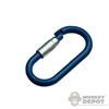 Tool: Crazy Dummy Carabiner - Blue