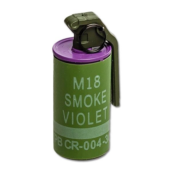Grenade: Crazy Dummy M18 Smoke - Violet