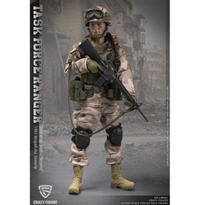 Boxed Figure: CrazyFigure 1/12 Chalk Leader 75th Ranger - 1993 Mogadishu Somalia (CF-LW001)