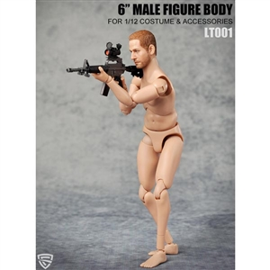 1/12 Multi Joint Movable Male Body w/Neck (CF-LT001)