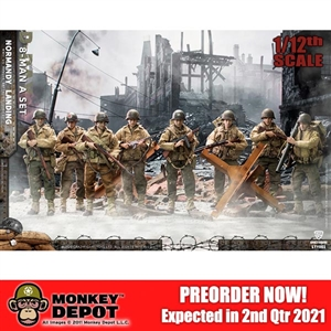 CrazyFigure 1/12 WWII U.S. Army On D-Day Deluxe Edition (CF-LTY001)