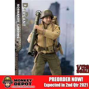 CrazyFigure 1/12 WWII U.S. Rangers On D-Day Sergeant (CF-LW016)