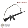 Rifle: CrazyFigure 1/12th M16A2 Assault Rifle