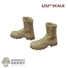 Boots: CrazyFigure 1/12th Mens Altama Desert Boots