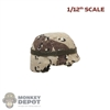 Helmet: CrazyFigure 1/12th Mens Chocolate Chip Camo Helmet
