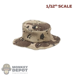 Hat: CrazyFigure 1/12th Mens Chocolate Chip Camo Boonie